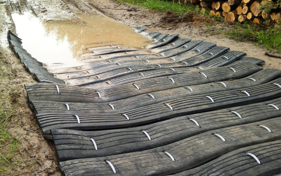 cattle road wet area mud mat