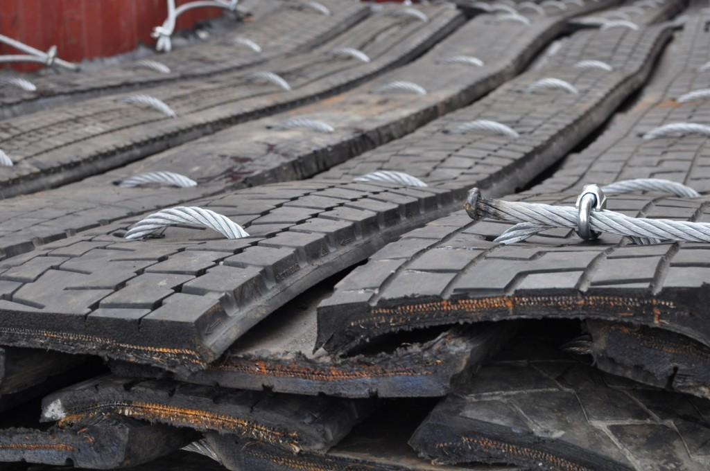 Blasting mats, or mats used for other uses such as track mats or protection mats etc., can be made to specification sizes to best suit the customers job requirements. Strong construction materials and methods ensure our mats can be used as lay-down protection, and hanging vertically as a wall protection.